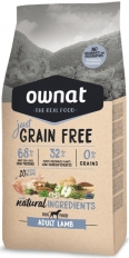 Ownat Grain Free Just Adult Lamb 14 кг