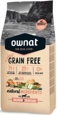Ownat Grain Free Just Adult Salmon & Seefood 14 кг