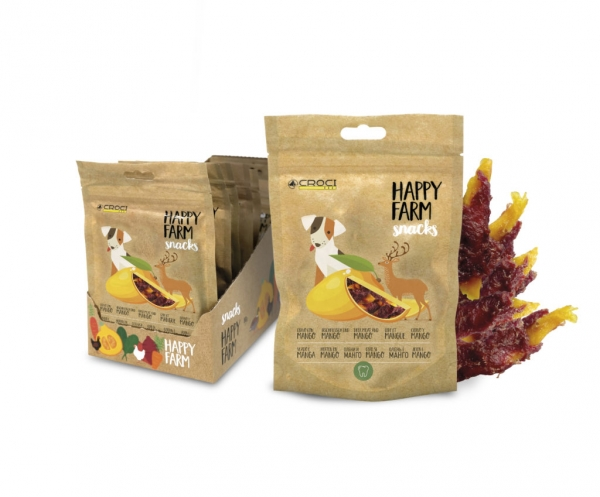 Happy Farm Snacks Deer Meat and Mango 80 гр