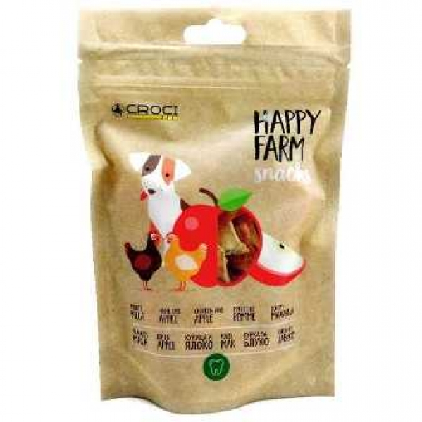 Happy Farm Snacks Chicken and Apple 80 гр