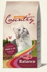 Храна за котки COUNTRY CAT BALANCE 10 KG ГОВ/РИБА 30/10