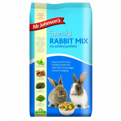 Mr Johnson's Special Rabbit Mix /no pellets/ 15кг