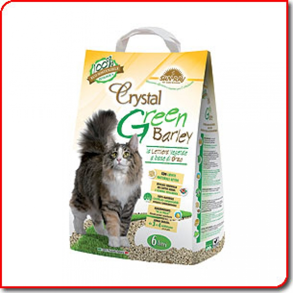 Wc Crystal Green Barley 6л - /от ечемик/