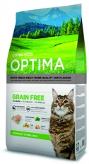 Optima GRAIN FREE Sterilised Cat 1 kg