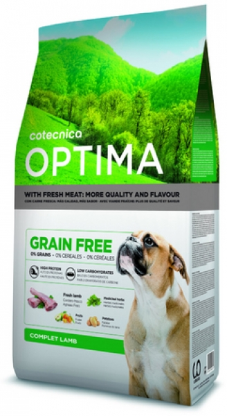 Optima GRAIN FREE Lamb Dog 14 kg 38/18