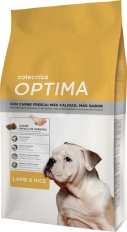Optima Lamb&Rice Premuim Dog 20 кг 25/14