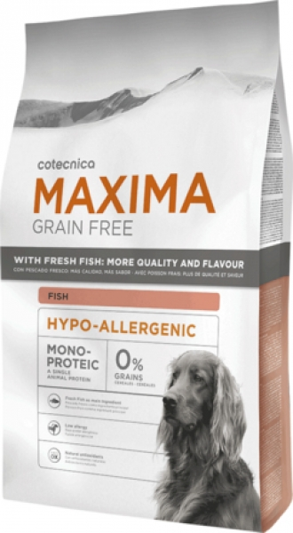 Maxima GF HIPO-ALLERGENIC FISH Dog 14 kg 28/14